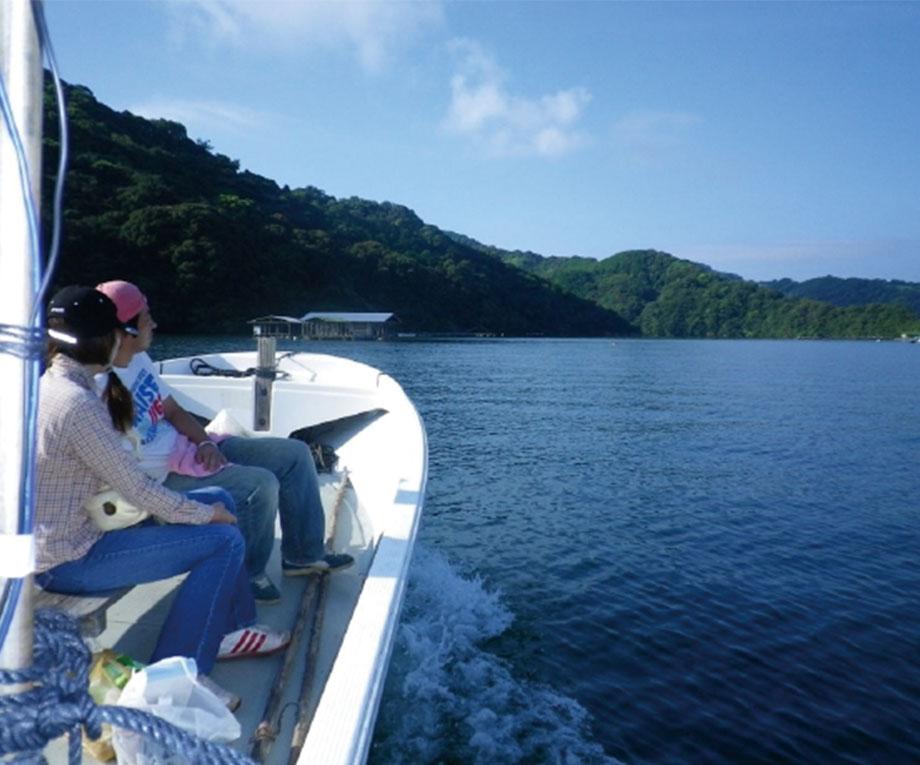 釣場への渡船