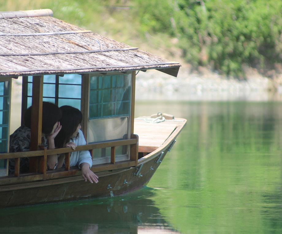 仁淀川屋形船